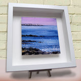 Framed ceramic tile Farne Islands