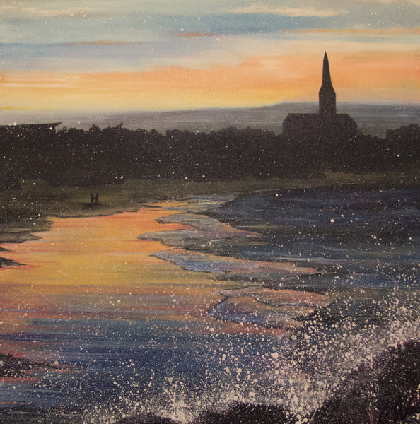 Large canvas print Longsands Tynemouth