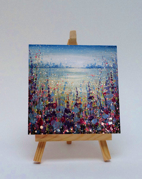 Ceramic tile with easel Special Place