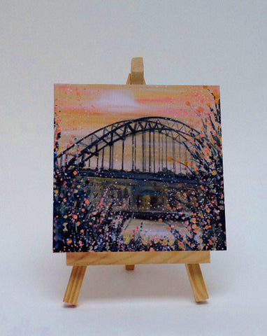 Ceramic tile with easel Tynebridge Newcastle