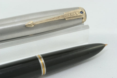 Parker 51 Vacumatic Black - Fully Restored And Working
