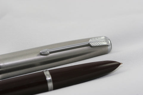 NEW!  Parker 51 Aerometric Burgundy - Restored And Working