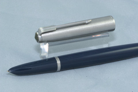 NEW!  Parker 51 Aerometric Midnight Blue - Restored And Working
