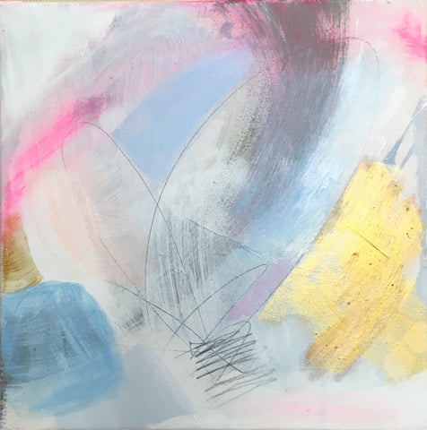 Abstract Original Painting by Brenna Giessen || Pure