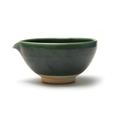 Small Green Spouted Bowl
