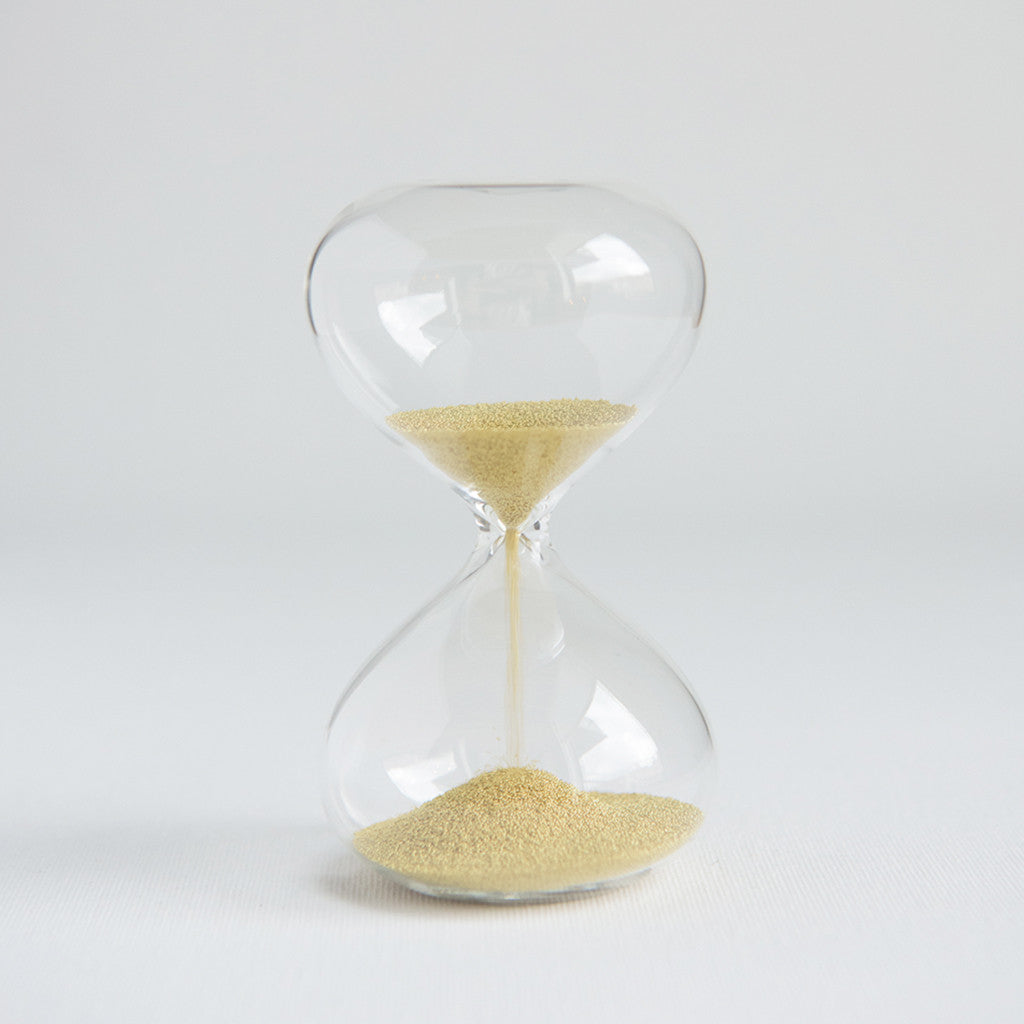 Sand Timer Gold One Minute