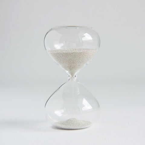 Sand Timer Silver Two Minute