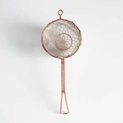 Hand made Copper Strainer Medium
