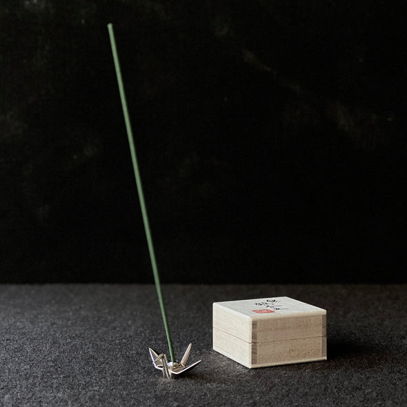 Folded Crane Incense Stand