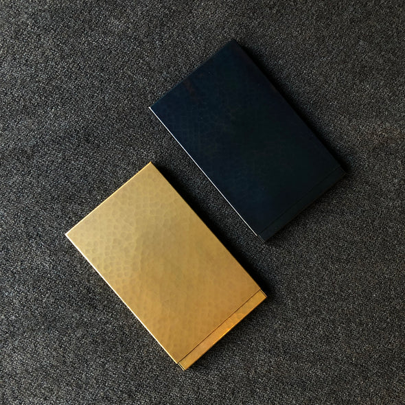 Card Case Dark Blue Tsuiki Copperware