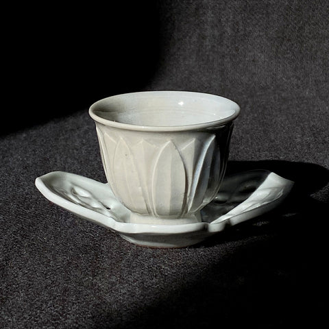 Porcelain Weave Tea Saucer Small