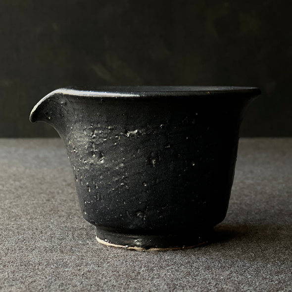 Iron Black Glaze Pitcher