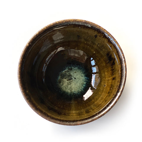 Hoeryong Iron Glazed Medium Cup
