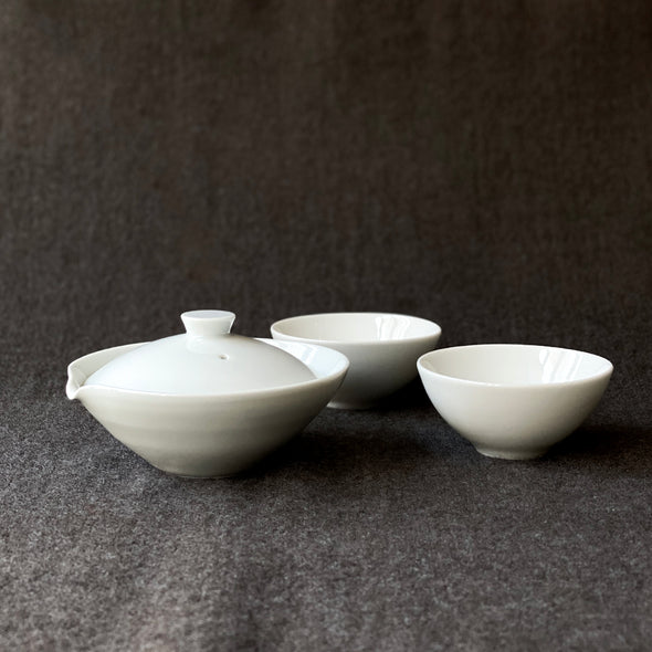 Porcelain Gyokuro Set White