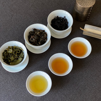 Classic Shades of Taiwan Oolong Sampler Set