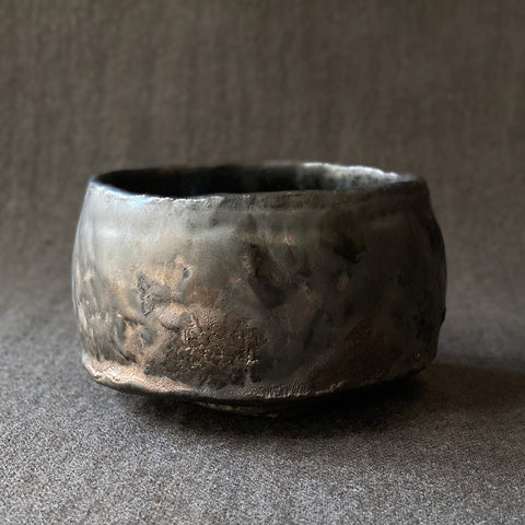 Mangan Black Chawan Tea Bowl