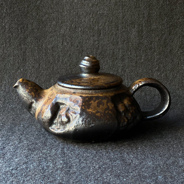 Iron Glazed Teapot