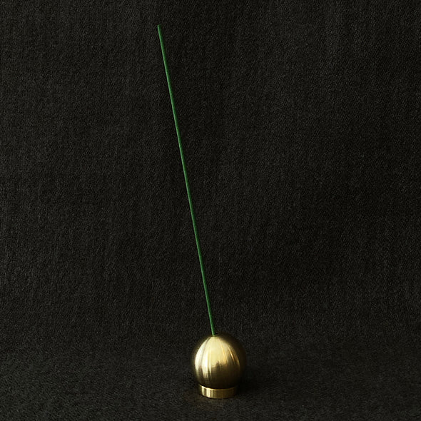 Brass Ball Incense Holder Large