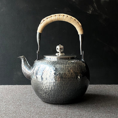 Smoked Brass Yuwakashi Water Kettle
