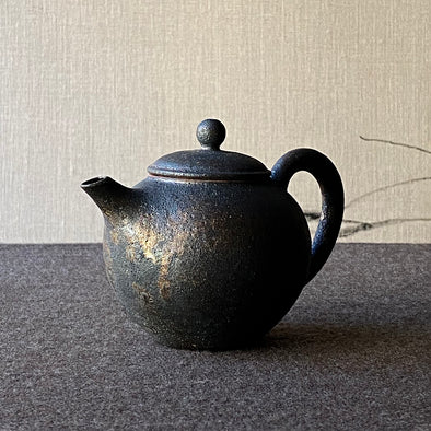 Mangan Glaze Teapot Medium