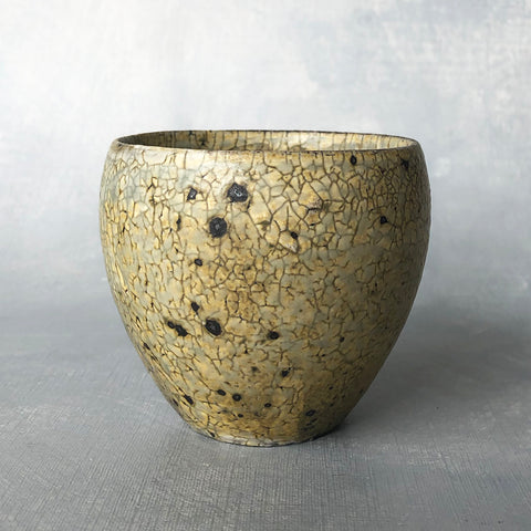 Mashiko Crackle Glaze Cup