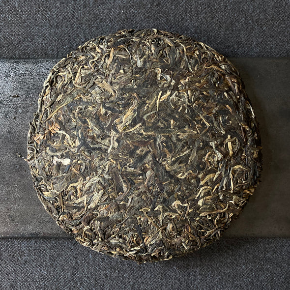China: Windy Village Yi Wu 2015 Sheng Puerh