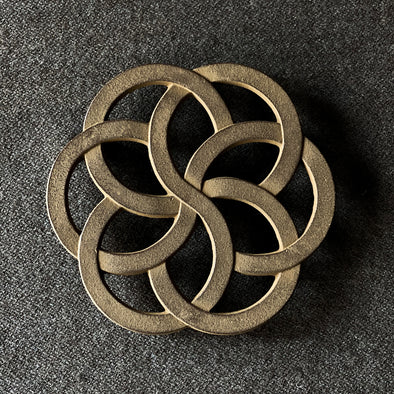 Circles Cast Iron Trivet