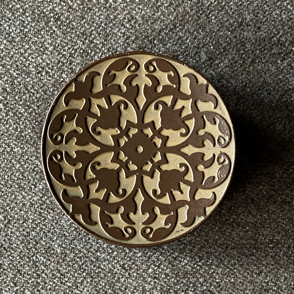 Kaleidoscope Cast Iron Lid Rest