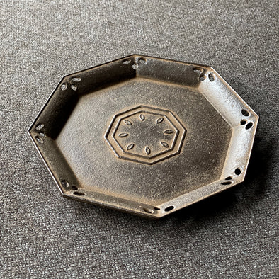 Octagon Shaped Cast Iron Plate