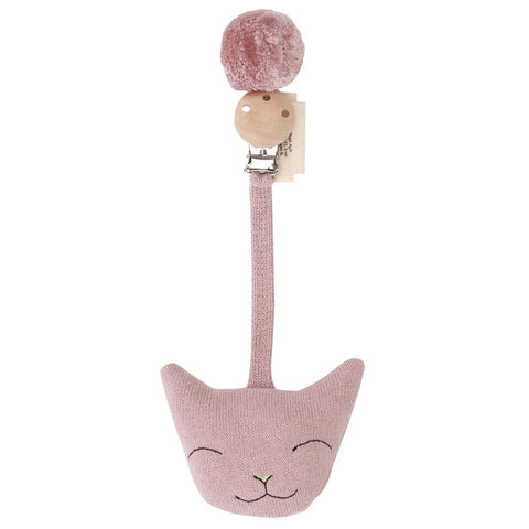 KONGES SLØJD pram toy / Clip cat rose fawn