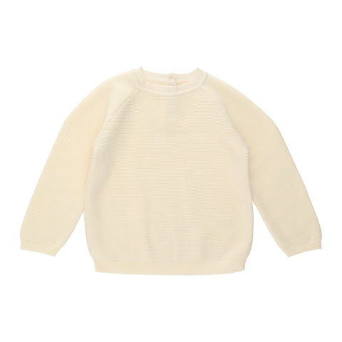 KONGES SLØJD knit sweat / Hysken of white