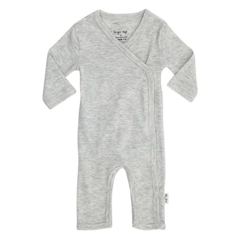 KONGES SLØJD newborn heldragt / Light grey melange