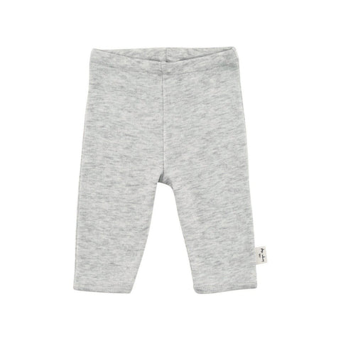 KONGES SLØJD newborn bukser / Light grey melange