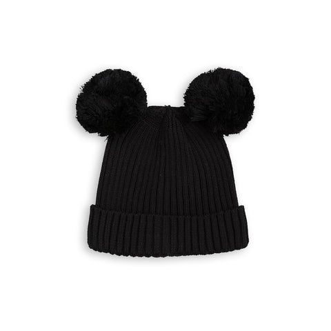 MINI RODINI hue / Ear hat black