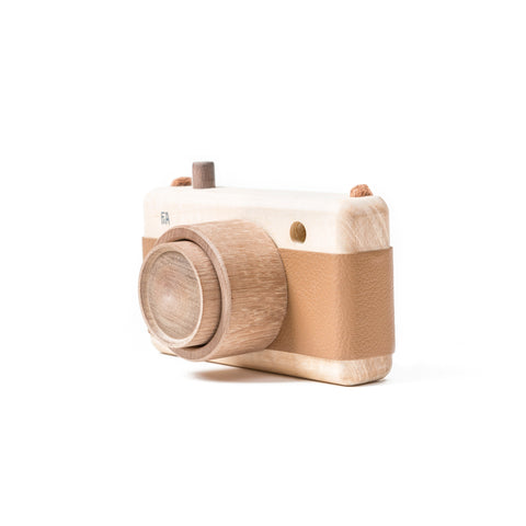 F&A Trækamera / Wooden camera HAZELNUT