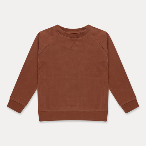 REPOSE AMS bluse / Sweat tee strong chestnut