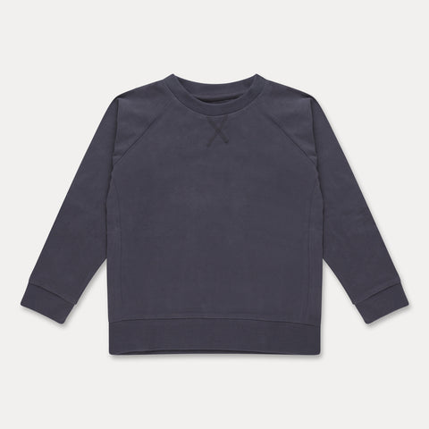 REPOSE AMS bluse / Sweat tee blue greyish