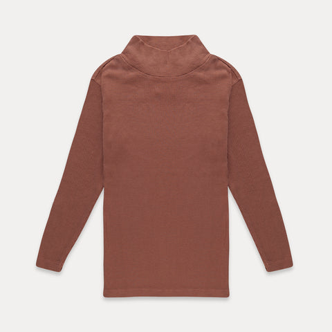 REPOSE AMS bluse / Turtle neck dusty coral