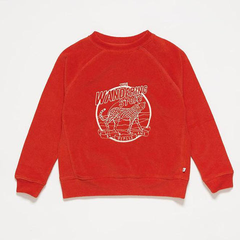 REPOSE AMS sweater / Imagination red