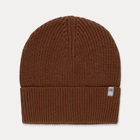 REPOSE AMS hue / Knitted hat washed cedar