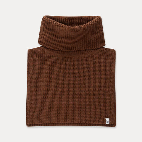 REPOSE AMS halsedisse / Knitted cowl scarf washed cedar