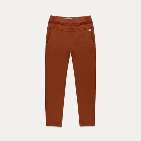 REPOSE AMS / Sweatpants tapered strong chestnut