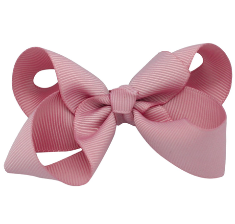BOWS BY STÆR hårspænde / Sløjfe DUSTY ROSE