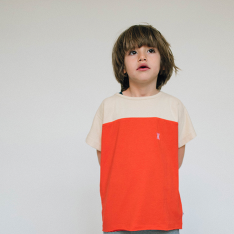 REPOSE AMS t-shirt / Imagination red
