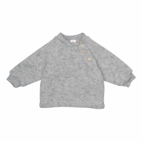 ENGEL sweater / Uldfleece grey melange