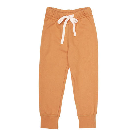 MILK COTTON bukser / Sweat pants mustard