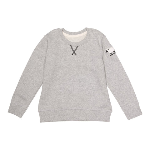 MILK COTTON bluse / Sweatshirt grey