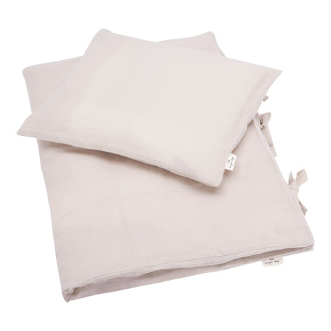 KONGES SLØJD adult bedding / Muslin light rose