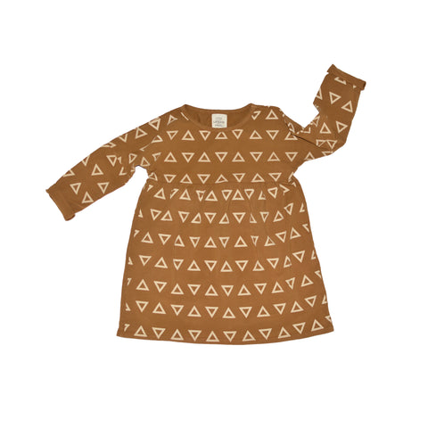 LITTLE URBAN APPAREL kjole / Ls triangles dress
