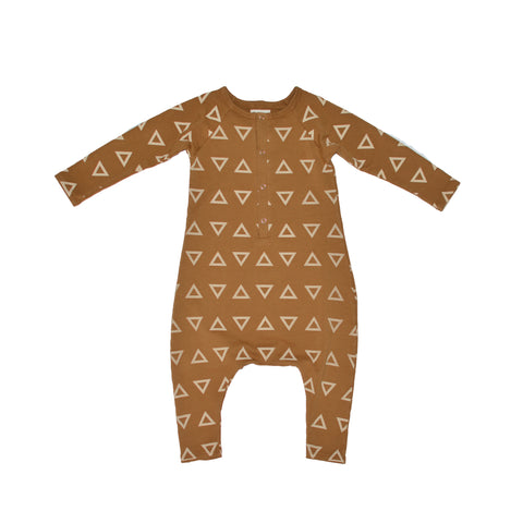 LITTLE URBAN APPAREL heldragt / Ls romper triangles (forudbestilling)